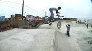 PROBANDO EL PARK EN BMX