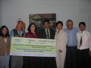 Premiación de la ARPAC en la copa de Experiencias Excelentes