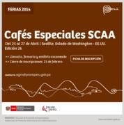 FERIA DE CAFES ESPECIALES - SCAA 2014