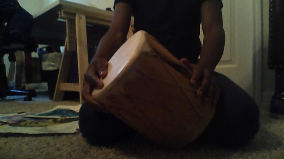 My destined shaman drum