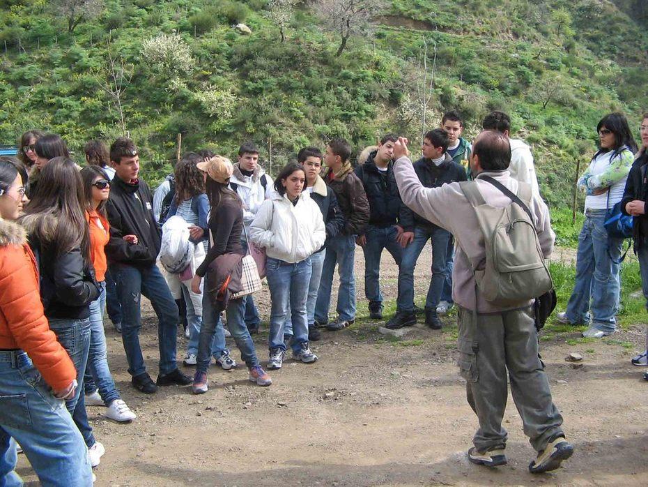 Educazione ambientale sulle falde dell'Etna