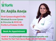 Dr. Anjila Aneja Most Renowned Gynaecologist and Obstetrician in India Improving Quality of Women's Life