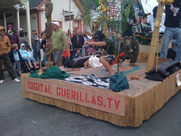 Digital Guerilla Float 4th of July Parade