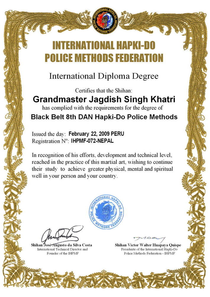 NEPAL - IHPMF International Diploma Degree