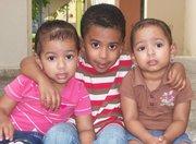mis 3 bebes..