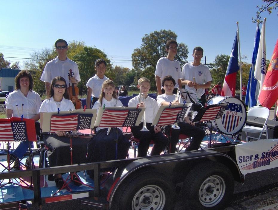 MECA Stars & Stripes Band - Veterans Day parade 2009