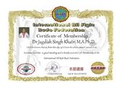 membership f Dr.Jagdish Singh Khatri M.A.Ph.D.