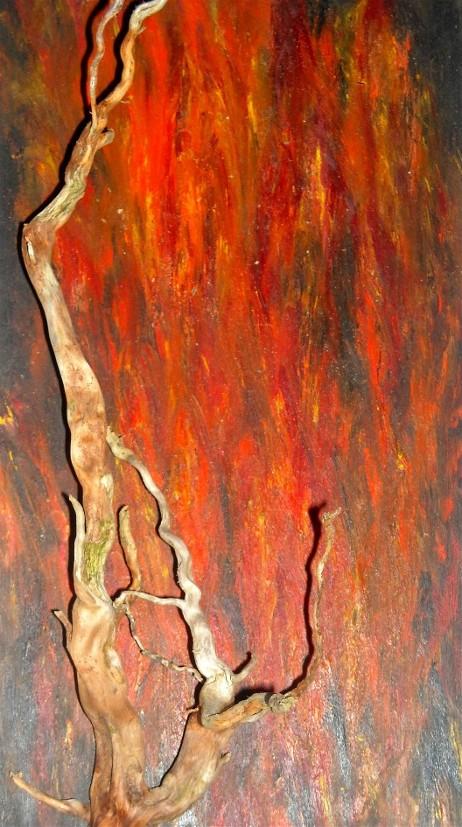 Feuersbrunst 2010, 15 x 29 cm