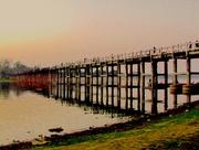Brücke in Myanmar