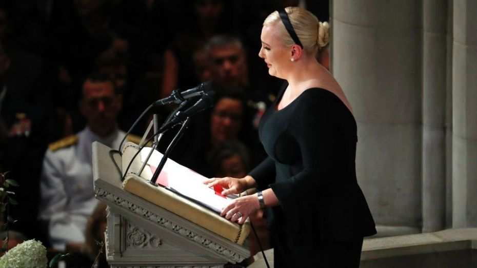 MEGHAN MCCAIN  ~ OUT OF ORDER !!!!!