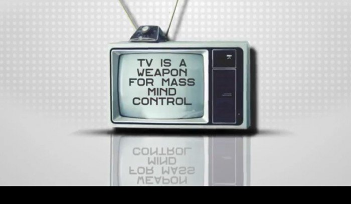 TV IS A WEAPON