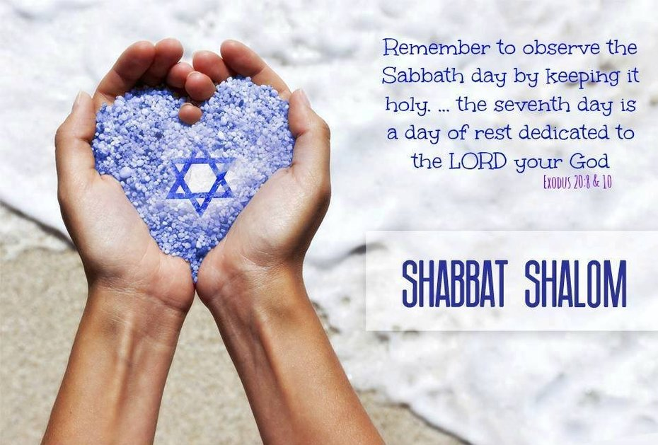 Happy Shabbat Shalom ( Peaceful Sabbath )!!