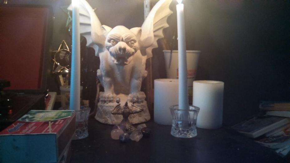 My Pagan altar