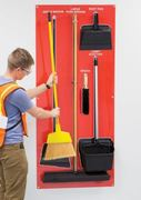 Visual organization helps obtain 5S in the workplace