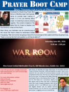 2016-0604-Dublin-War Room Prayer Boot Camp