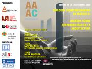 Jornada de Sostenibilidad en la Semana de la Arquitectura 2009. Madrid