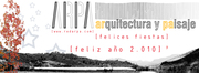 Felicitacion ARPA ARquitectura y PAisaje 2010