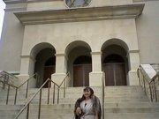Rev Vega at a Synagoge