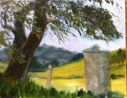 Towards Hill of Slane