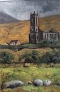Dun Lewey Church from The Poisened Glen , Co. Donegal