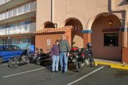 Leaving Ramada Inn (St. Augustine, FL) Bike Week 3-6-07