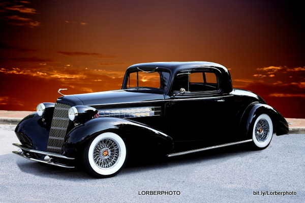 1935 Cadillac Coupe