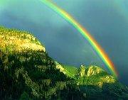Een zeer felle Regenboog