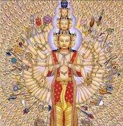Thousand armed Avlokteshvara