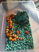 2.5 kg old Chinese turquoise