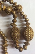 Gilt Silver Beads - Balinese