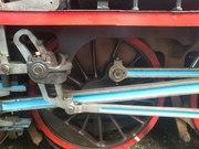 Damp lokomotiv sleidestyring