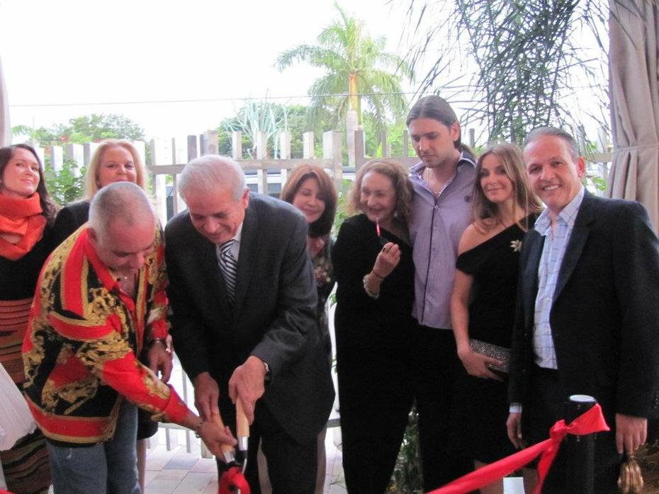 Gino Tozzi Mayor Tomas Regalado Cutting Ribbon Ceremony