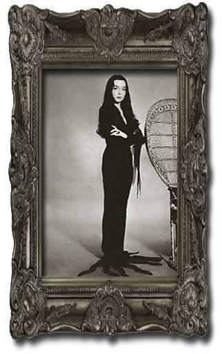 Morticia Addams for Halloween1