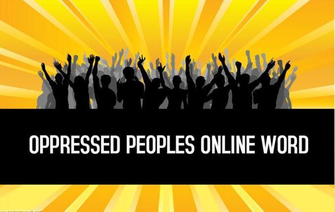 Oppressed Peoples Online Word