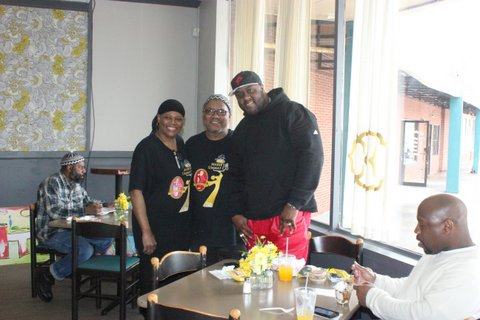 Jamal Woolard @ Marie's Cafe Atlanta, Ga.