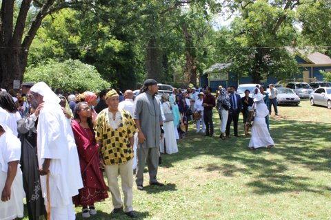 Janaza Prayer For Sister Fulani Sunni Ali