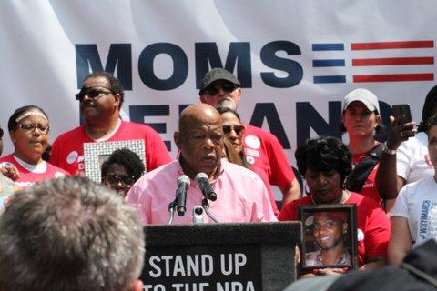 NRA Convention Counter-Rally in Atlanta