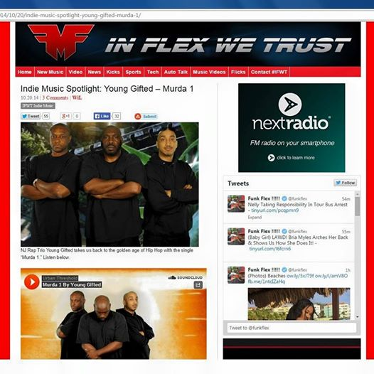 In Flex We Trust  Featuring Young Gifted