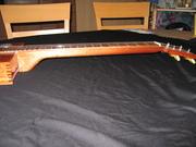 Neck of the Resonator Guitar
