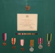 WW-II Medals Complete