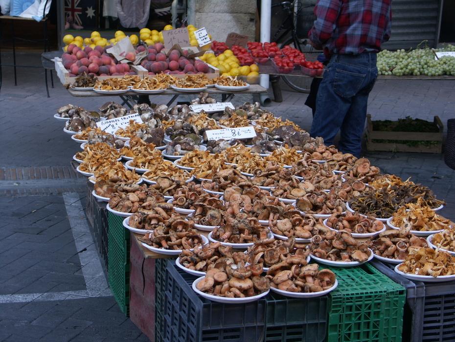 Mushrooms at Market Day, L'Isle-sur-la-Sorgue