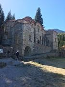 Buildings at Mystras