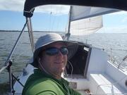 Sailing ICW in IHB