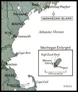 February 1959  Issue  -  Monhegan Island