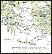 December 1958  Issue  -  The Aegean Sea