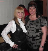 me and donna pw after show 2010