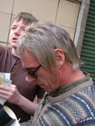 Paul Weller signing autograph