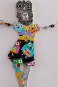 """""""Wall Dancers"""" Polymer Art Dolls"""