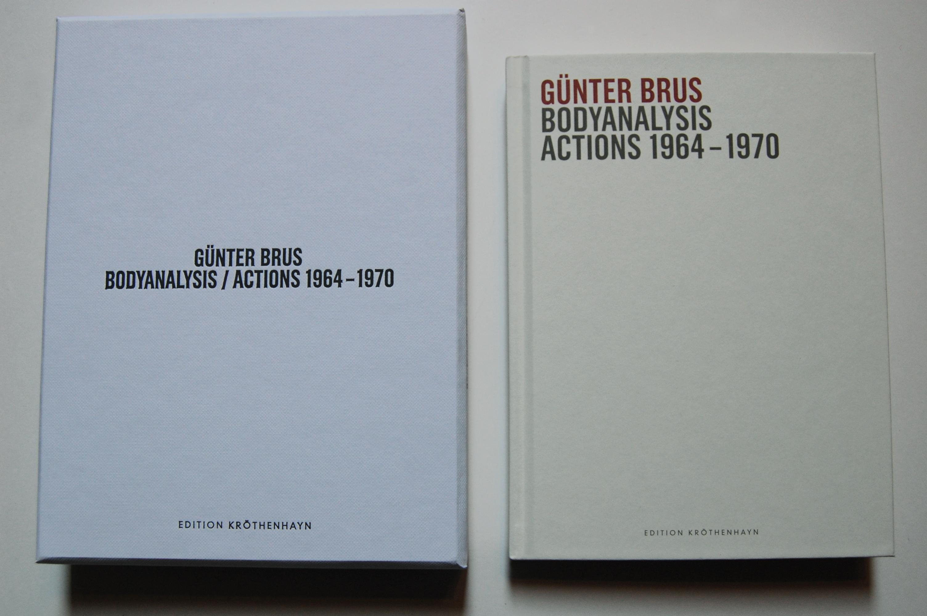 Günter Brus - Bodyanalysis/ Actions 1964-1970