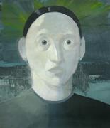 Selfportrait,40x35cm,acril/canvas,2010
